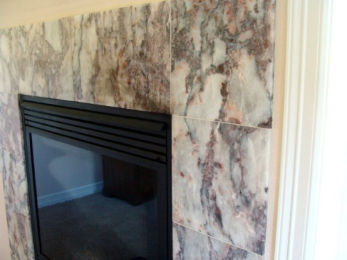 Bedroom Fireplace Tile